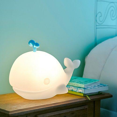-Luminária - Baleia branca