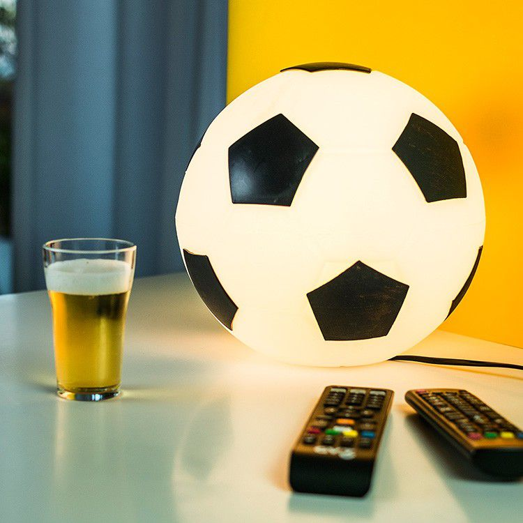 -Luminária - Bola de futebol