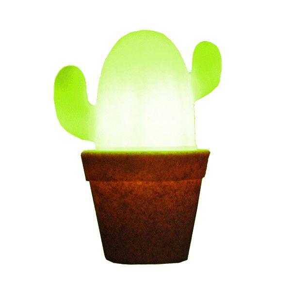 -Luminária - Cactos Verde