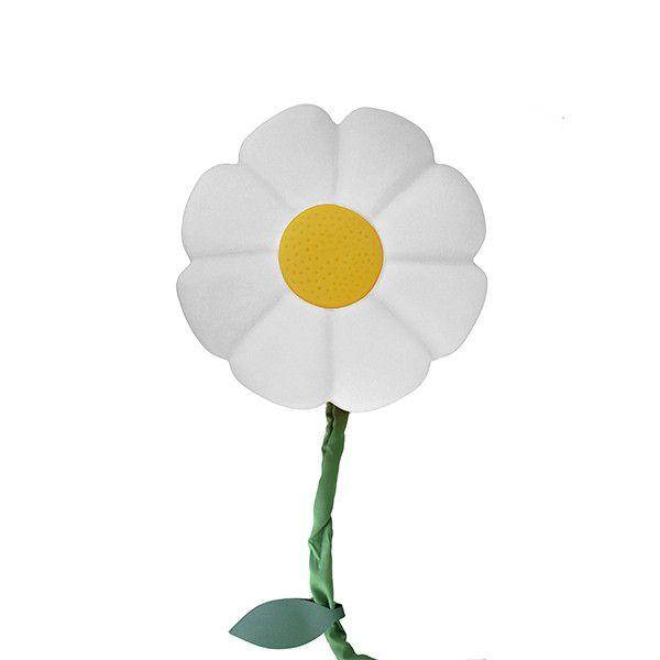 -Luminária de parede - Flor branca