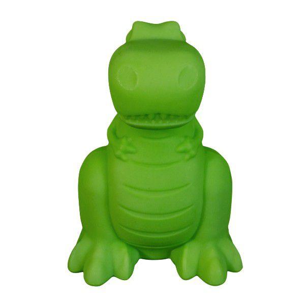-Luminária - Dinossauro verde