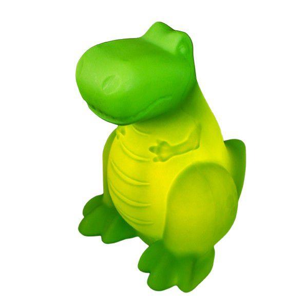 Luminária Dinossauro Verde Bivolt