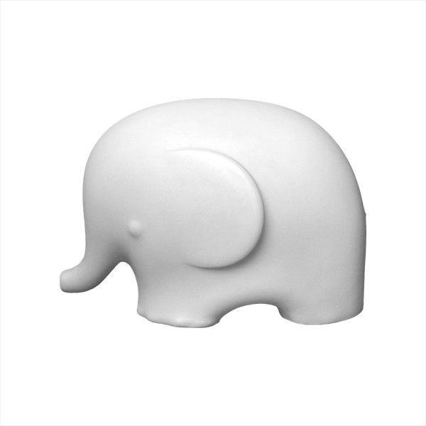 -Luminária - Elefante branco