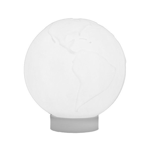 -Luminária - Globo marcação branco