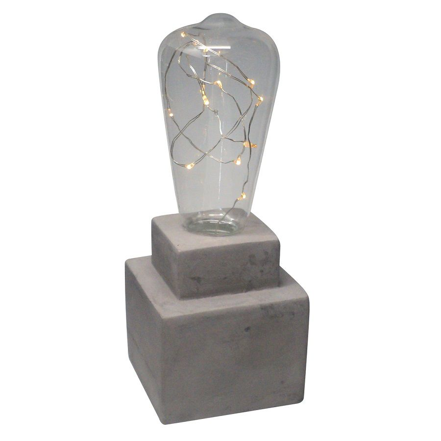 -Luminária - Lâmpada cimento industrial LED
