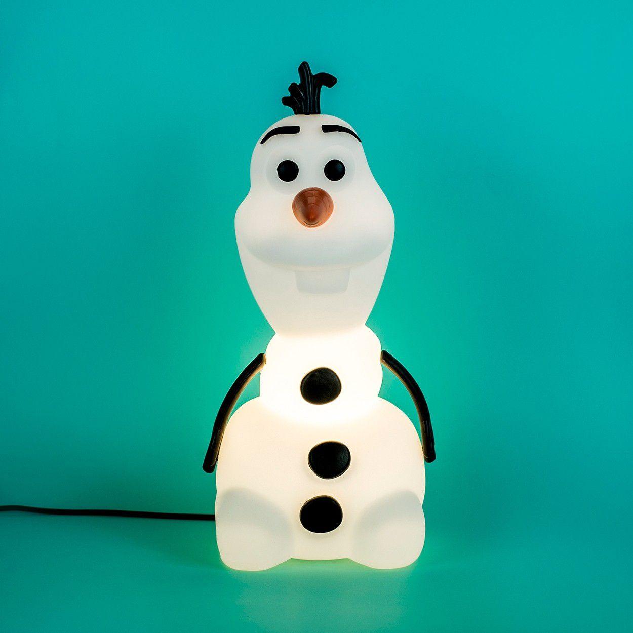 Luminária Boneco Olaf Branco