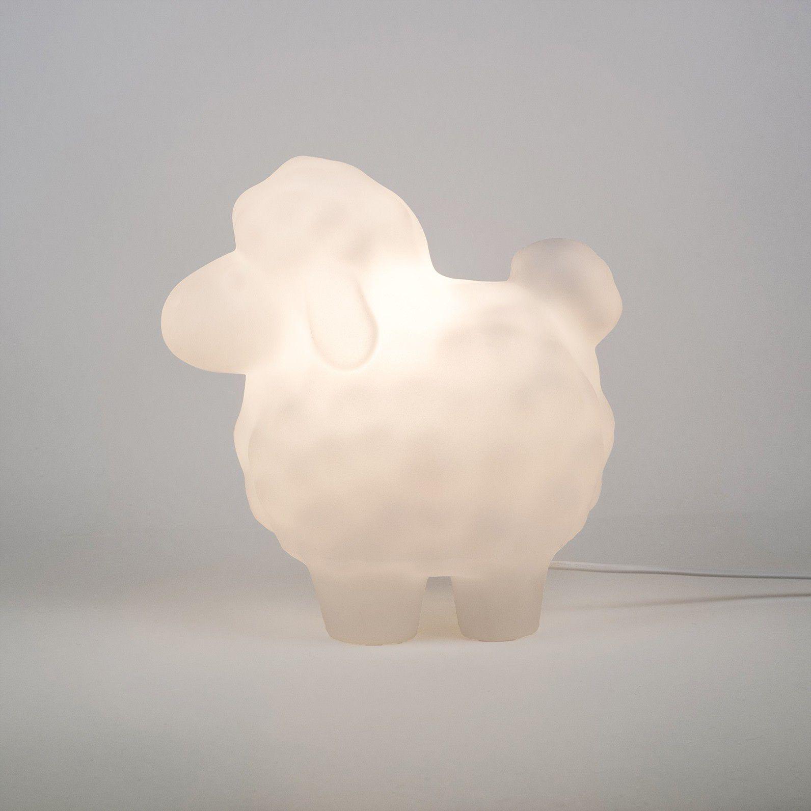 -Luminária - Ovelhinha branca
