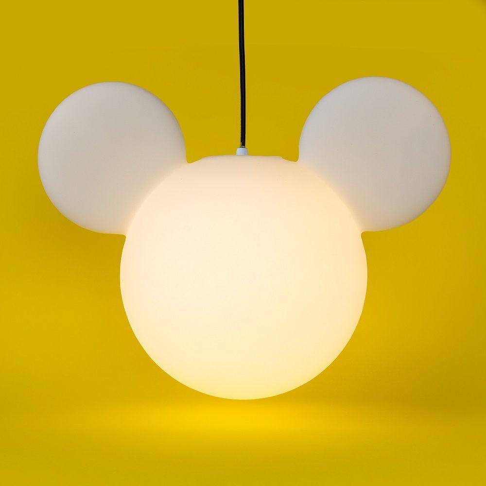 -Luminária - Pendente Mickey clean