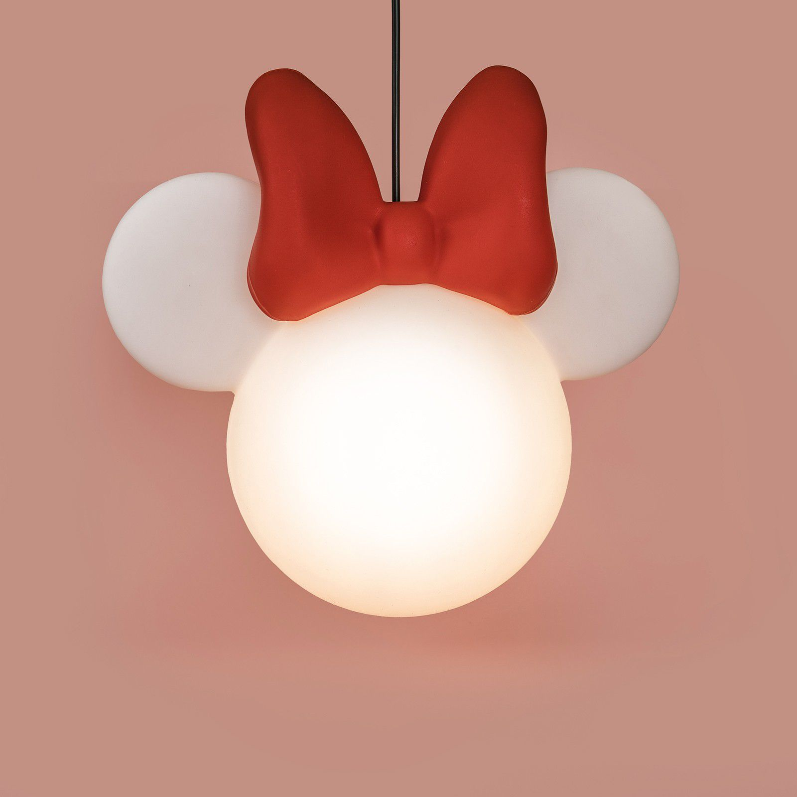 -Luminária - Pendente Minnie clean