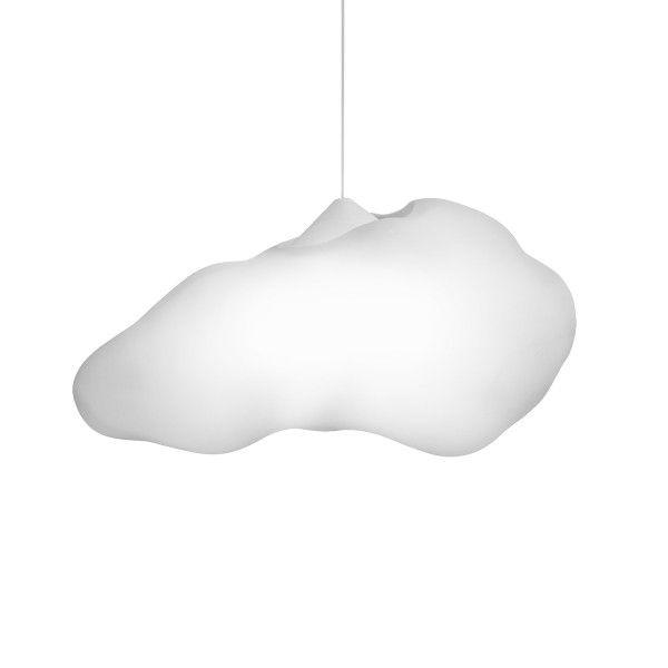 -Luminária - Pendente nuvem branca