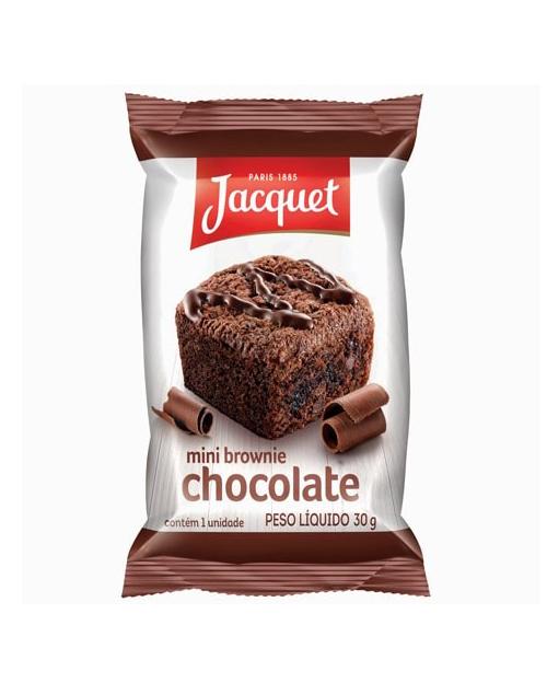 Mini Brownie Chocolate Meio Amargo 30g