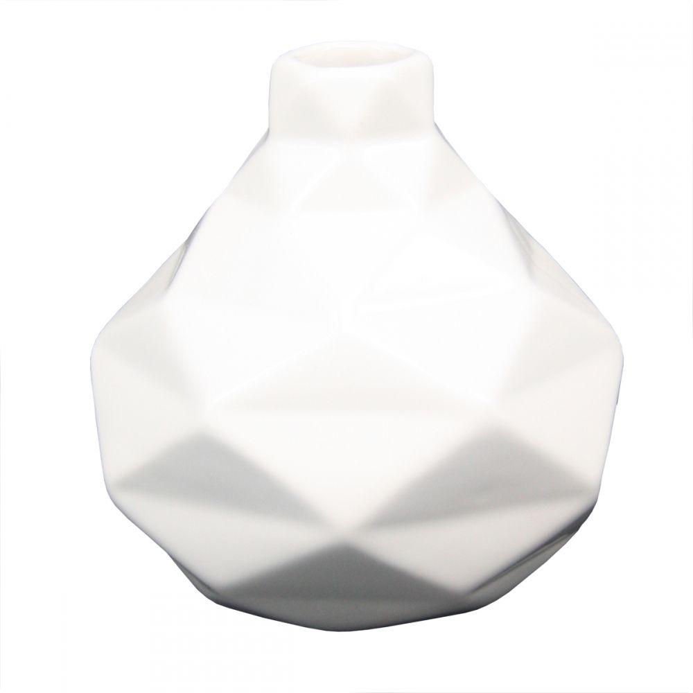 -Mini vaso - Geométrico branco 1
