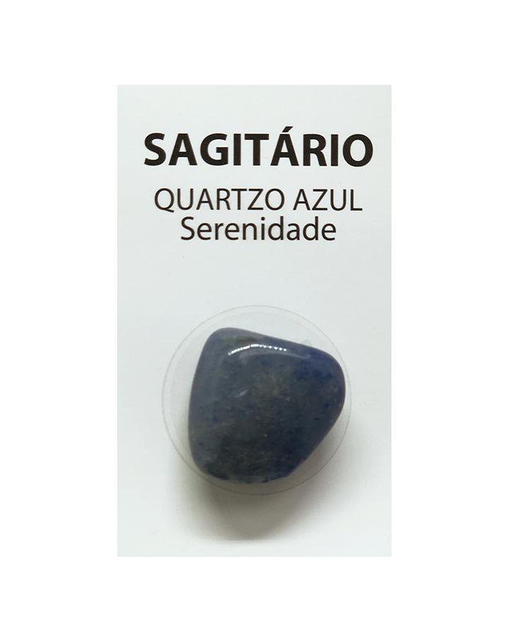 Pedra Quartzo Azul do Signo Sagitário