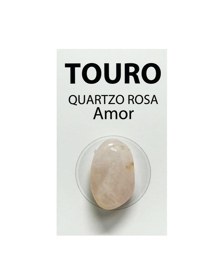Pedra Quartzo Rosa do Signo Touro