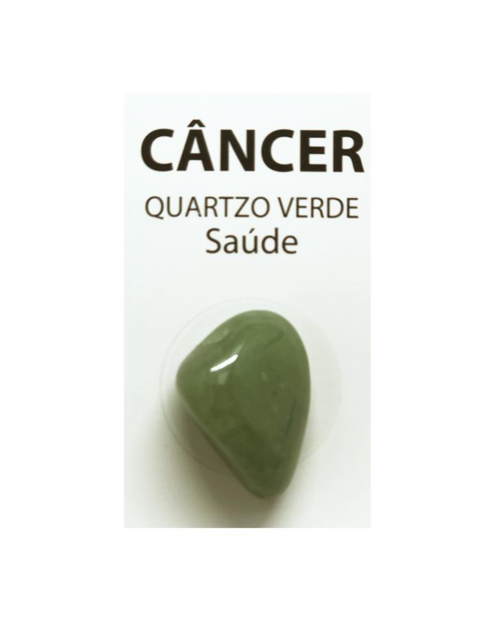 Pedra Quartzo Verde do Signo Câncer