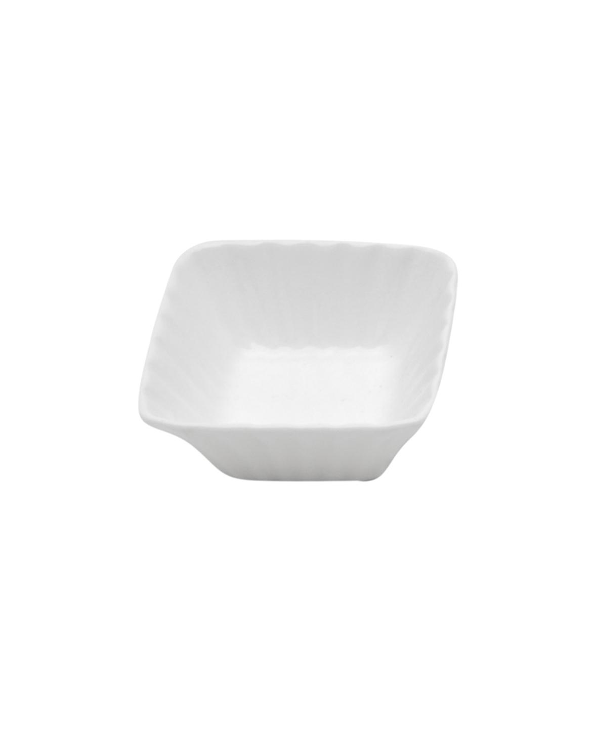 Petisqueira de Porcelana Pequena Quadrada