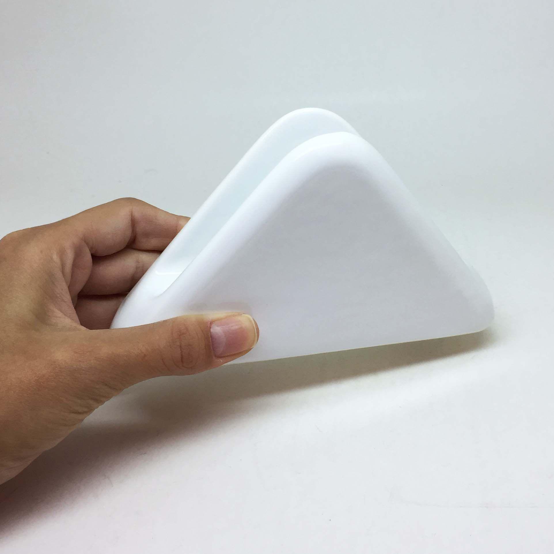 Porta-Guardanapo de Mesa em Cerâmica Branco