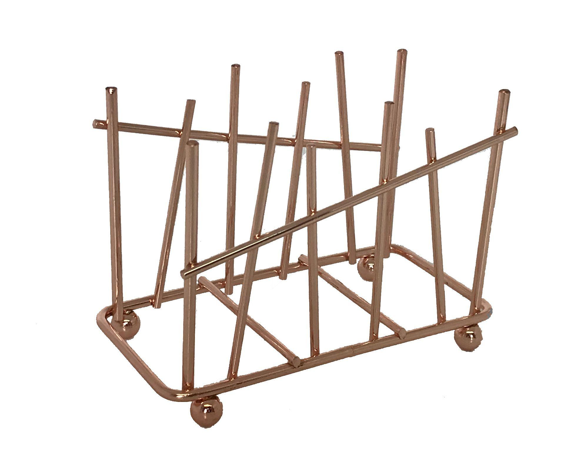 -Porta-guardanapo - Metal cobre