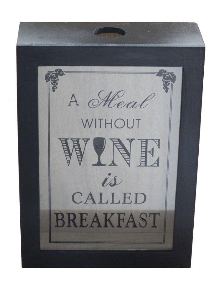 -Porta-rolhas - Vinho