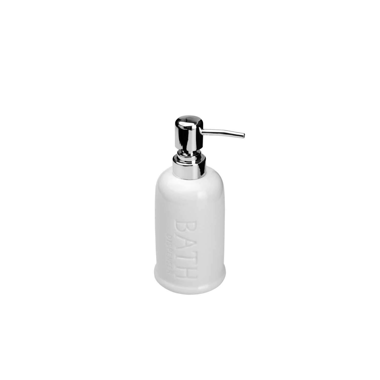Porta-sabonete Líquido Bath Branco