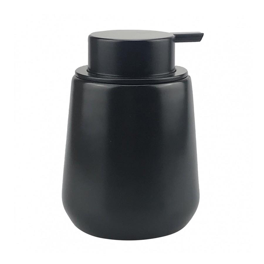 Porta-sabonete Líquido de Porcelana Preto