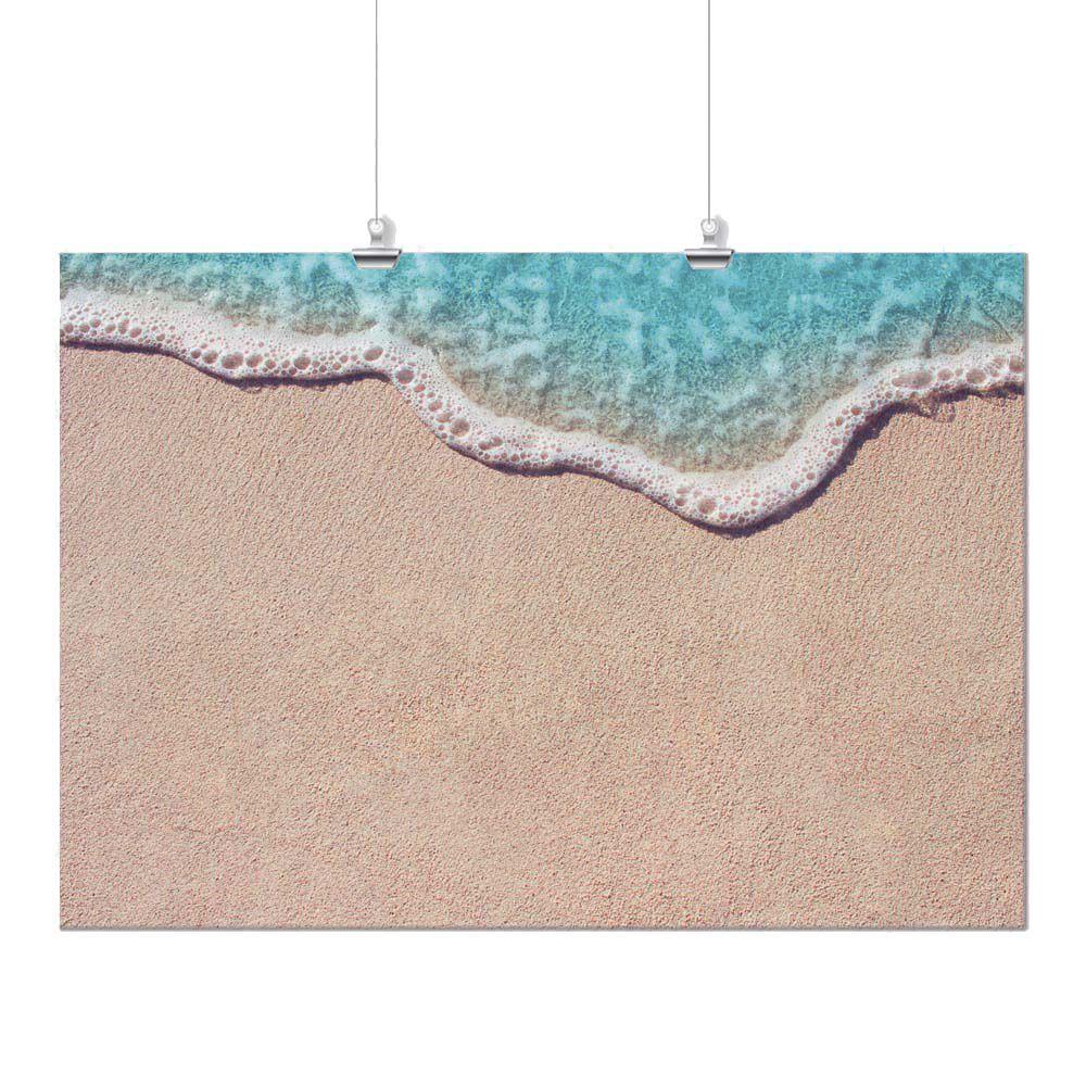 Pôster - Areia e Mar Azul