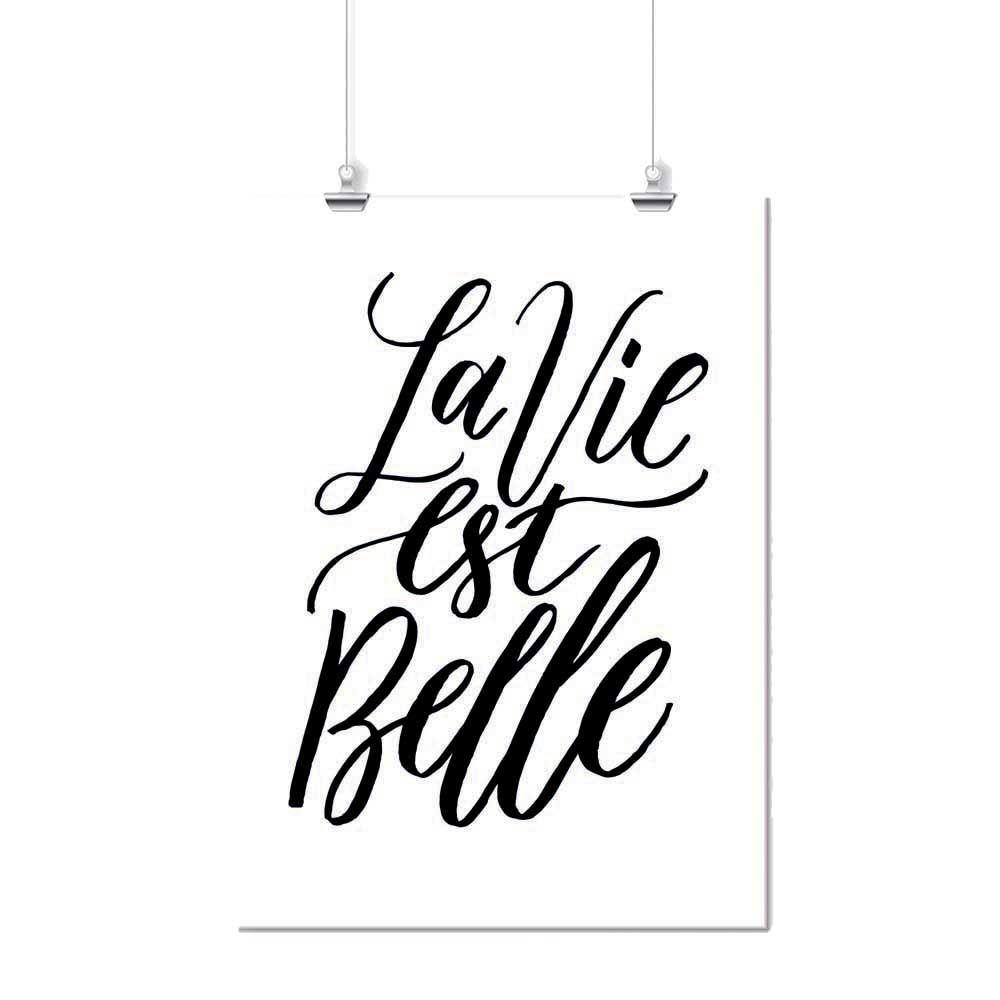 Pôster - La Vie Est Belle