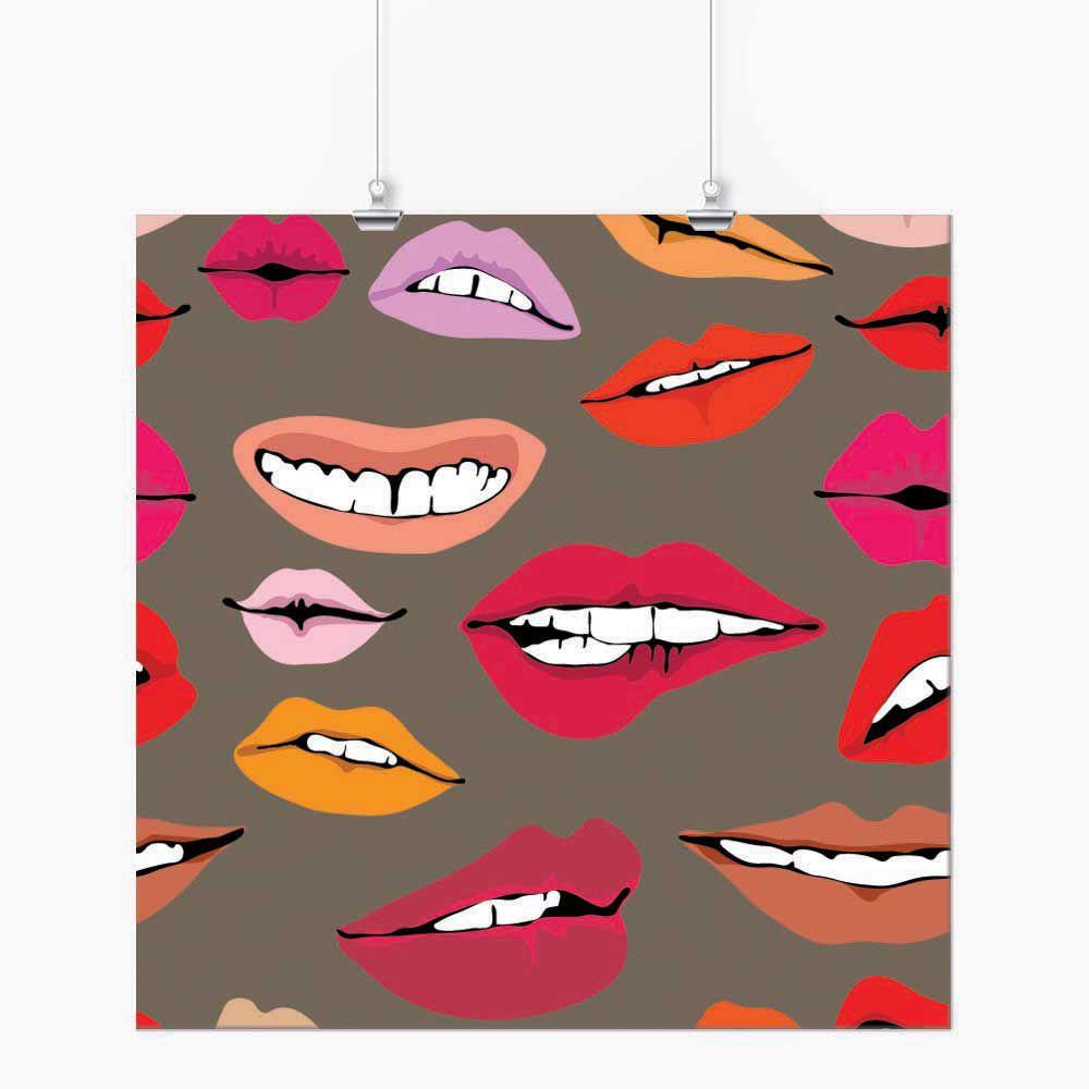 Pôster - Pop Art Bocas