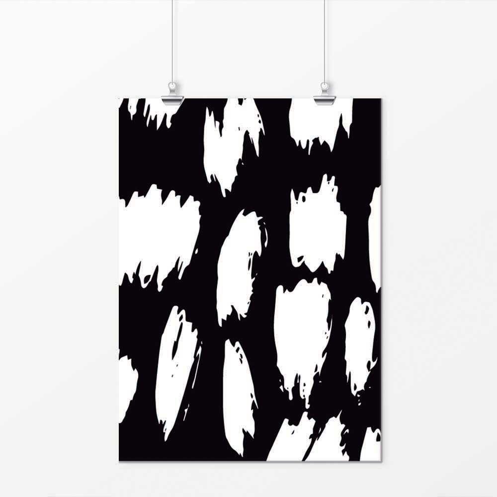 Pôster - Simple Preto e Branco 2