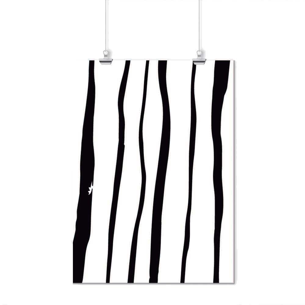 Pôster - Simple Preto e Branco 3
