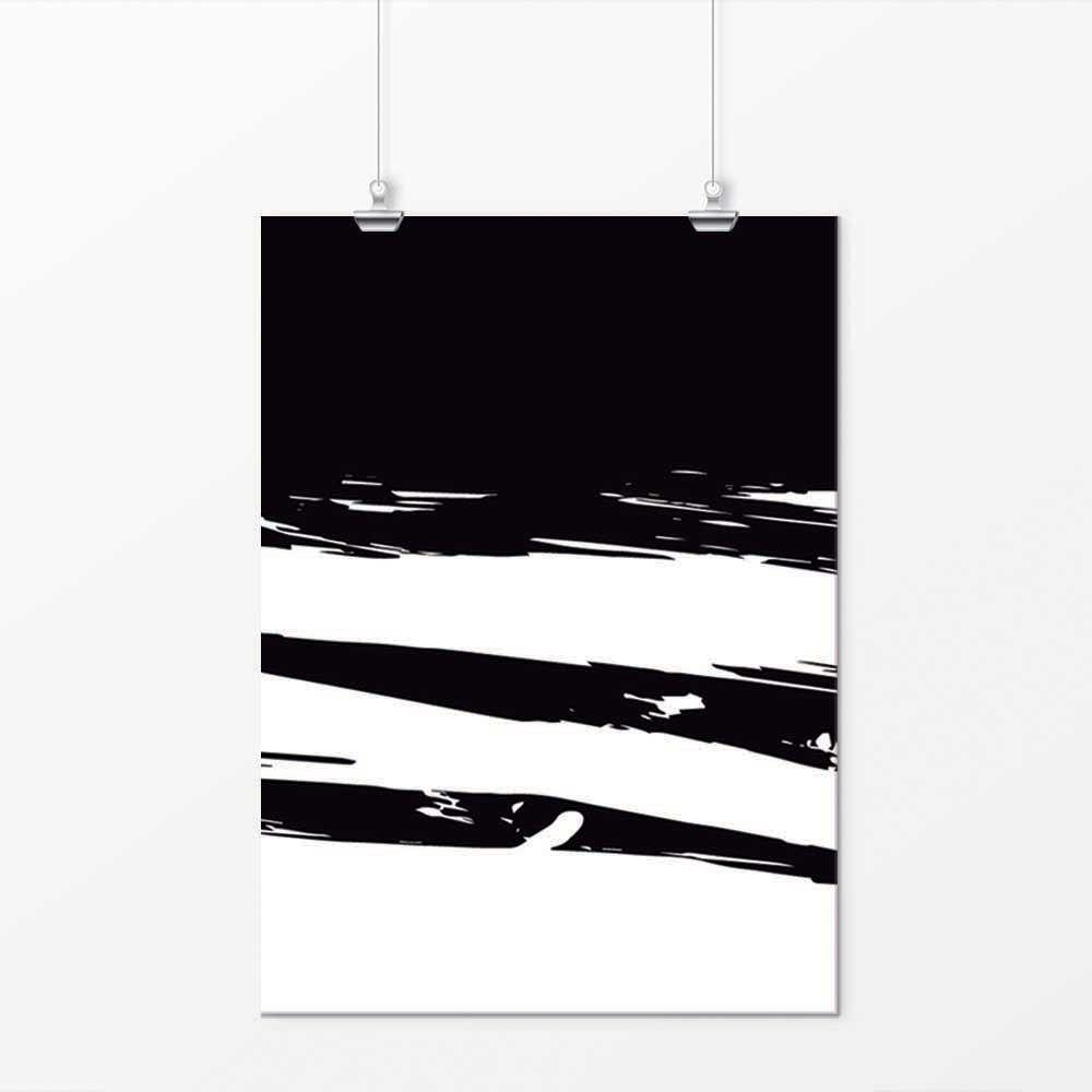 Pôster - Simple Preto e Branco 5