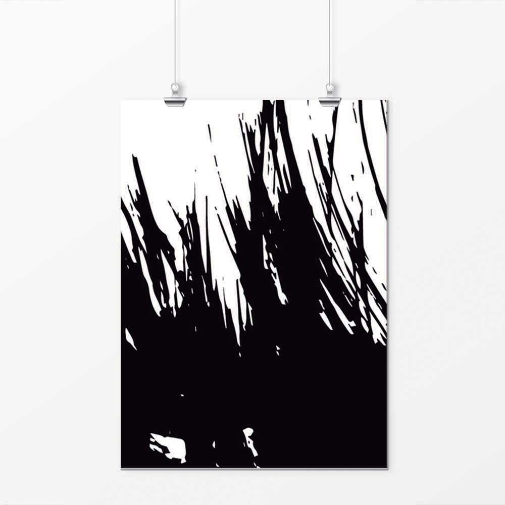 Pôster - Simple Preto e Branco 6
