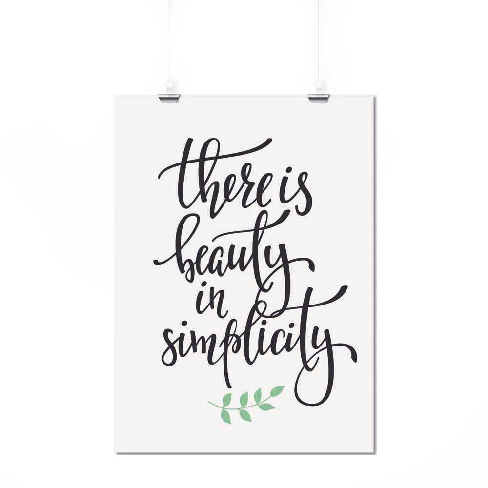 Pôster - Simplicity