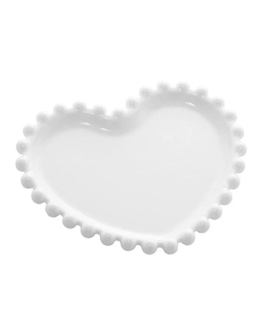 Pratinho de Porcelana Coração