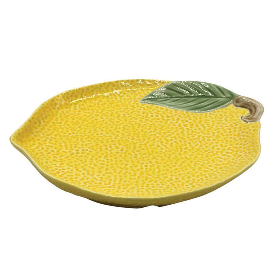Prato Petisqueira Limão Siciliano Amarelo