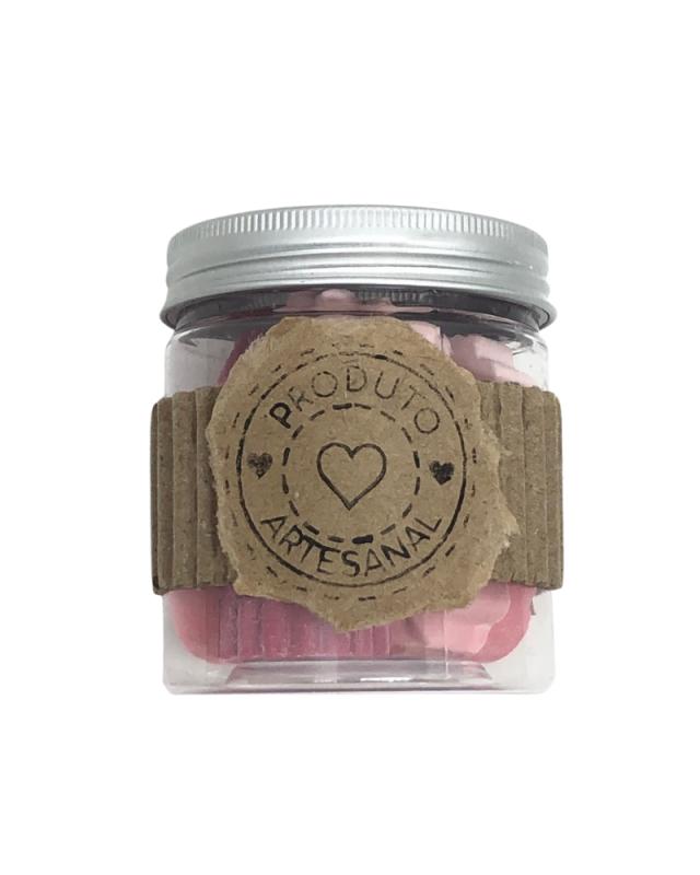 Sabonete Artesanal Perfumado Flor Rosa