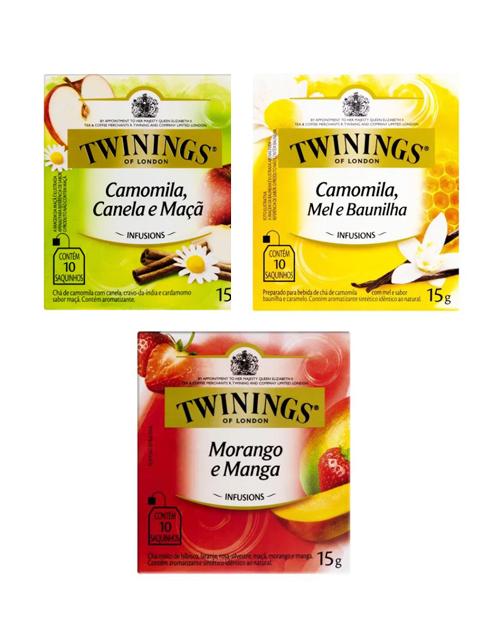 Sachê de Chá Twinings 3 Unidades Sortido