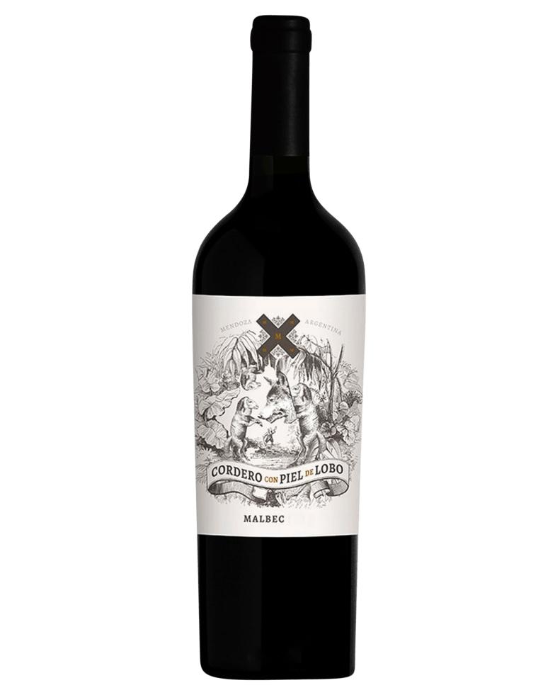 Vinho Cordero con Piel de Lobo Malbec 2020