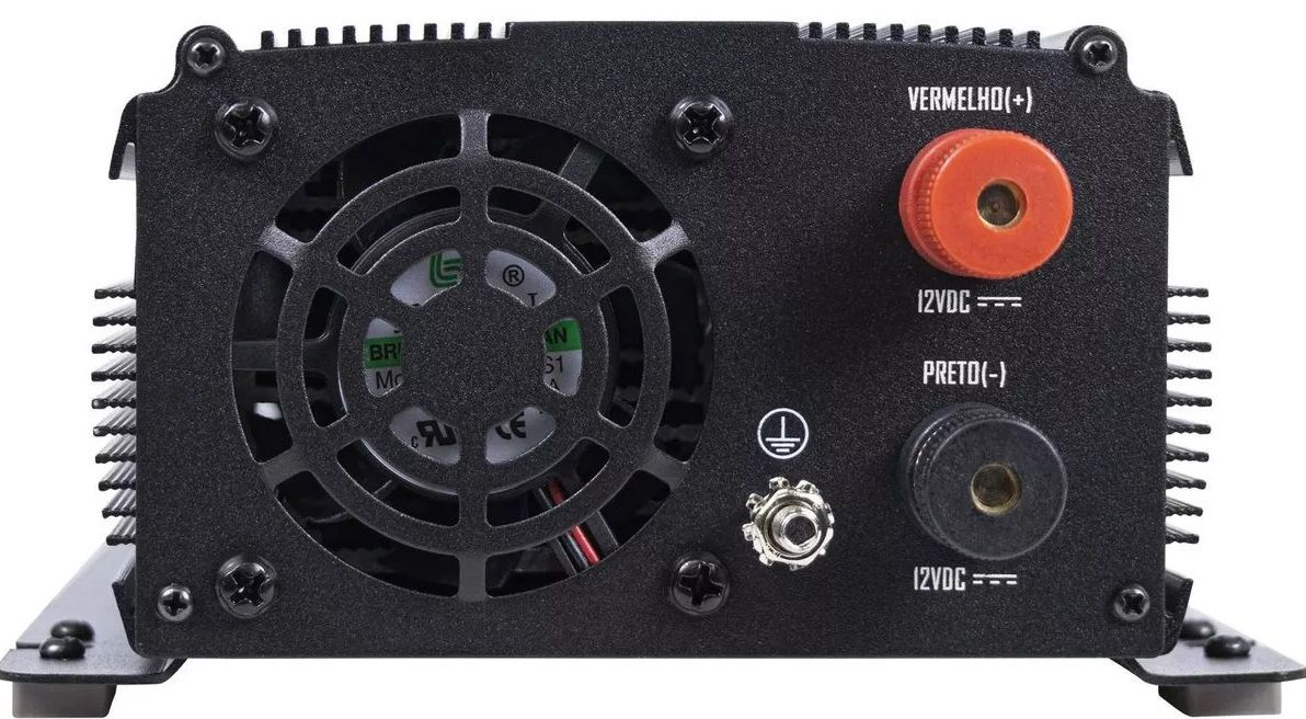 INVERSOR HAYONIC 1000W 12VCC220VCA ONDA SENOIDAL PURA USB