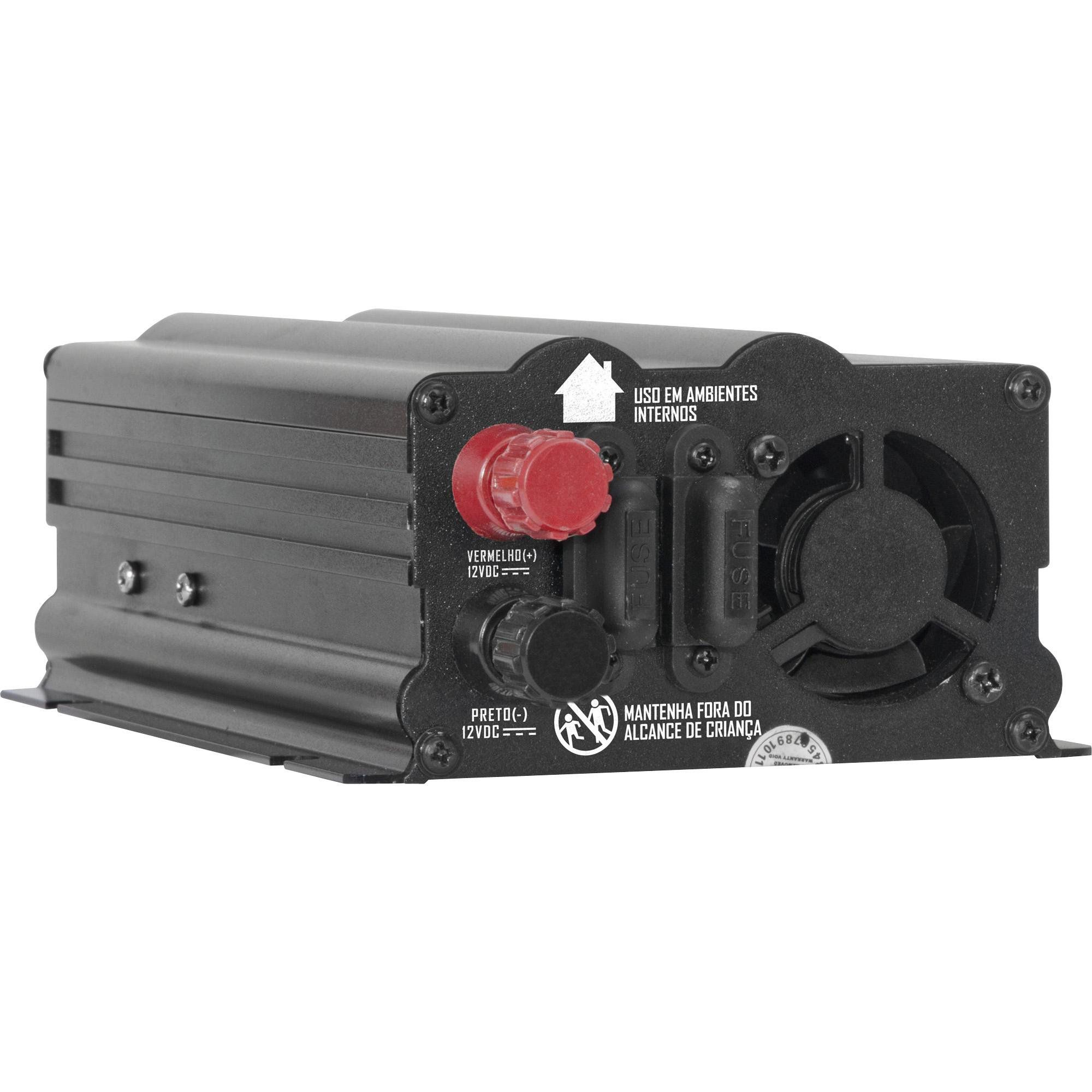 INVERSOR HAYONIC 500W 12VDC220V USB ONDA MODIFICADA GD