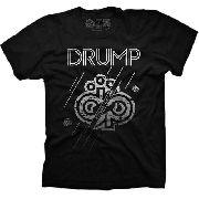 Camiseta Rap Skate Large Drump Masculina Symbol Linhas