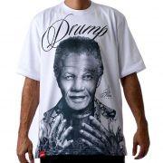 Camiseta Masculina Large Drump Nelson Mandela