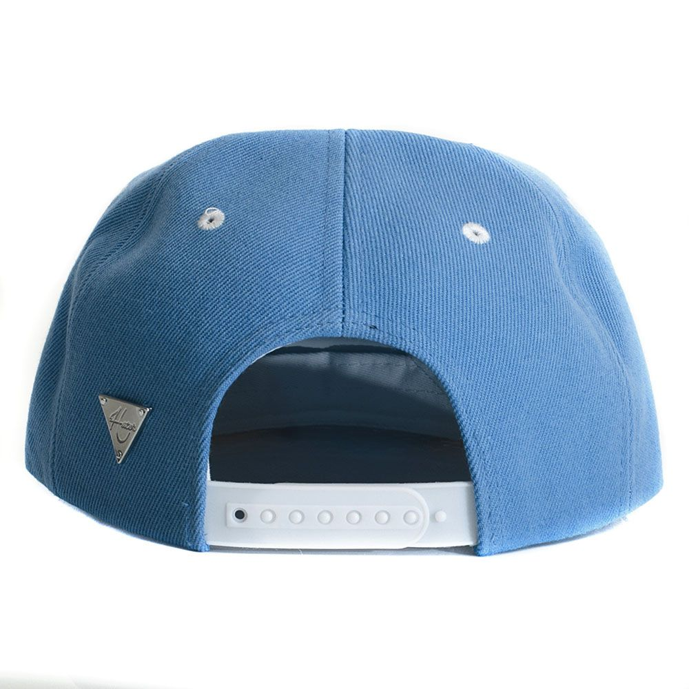 Boné Hater Snapback Aba Reta Placa Azul - Cap Original