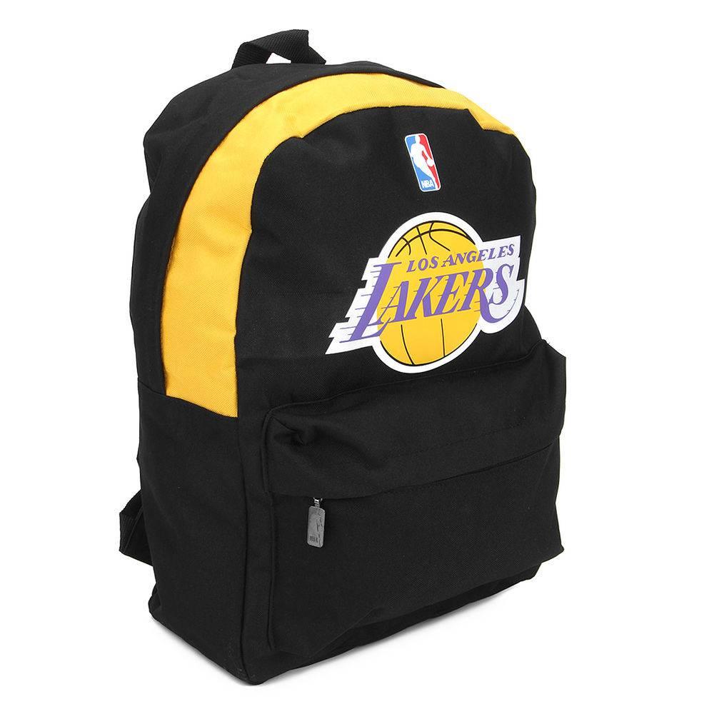 Mochila Nba Los Angeles Lakers Preta