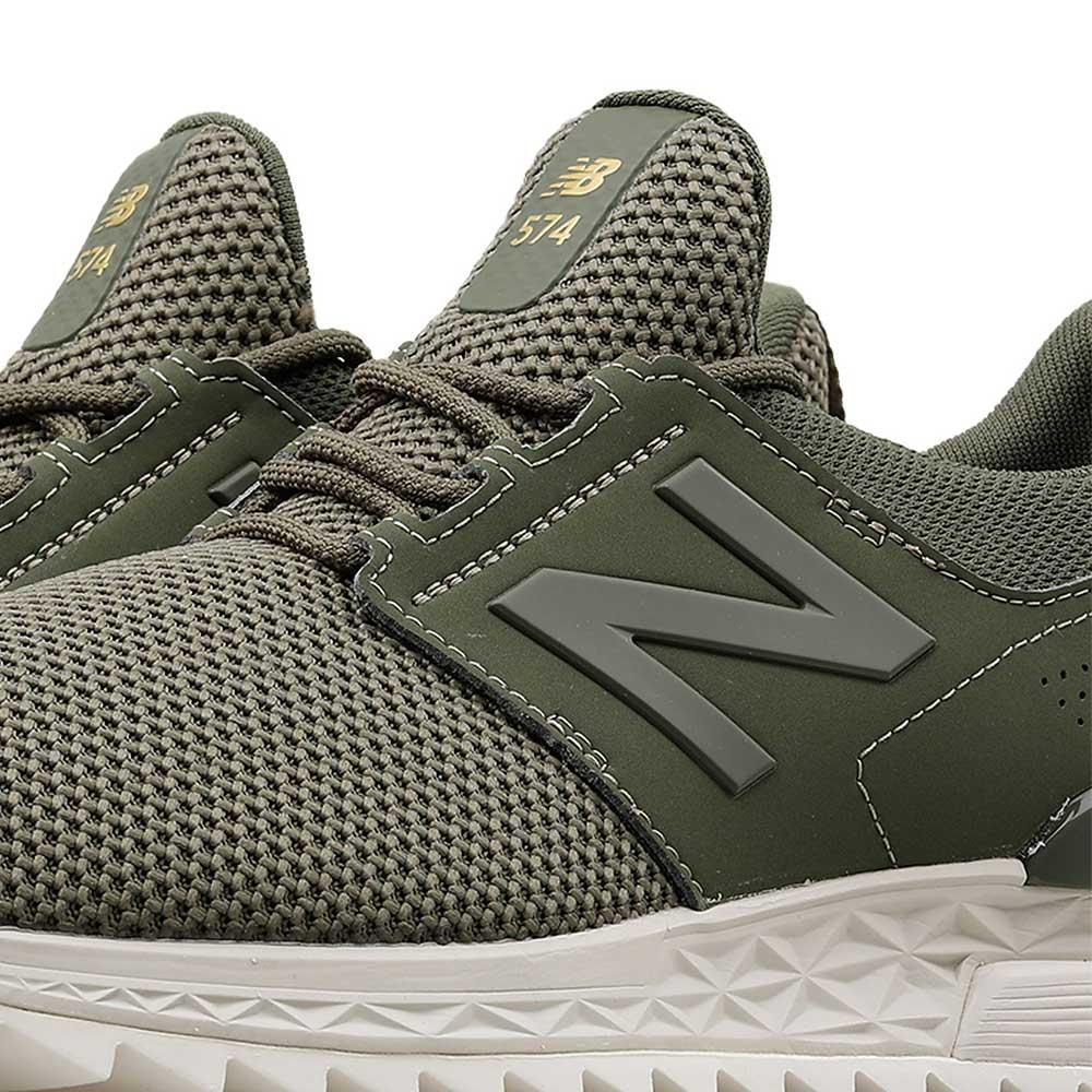 Tenis New Balance 574 MS574DUO Verde