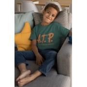 Camiseta ATP (APAIXONADO POR TÊNIS PROFUNDAMENTE) >>  2 a 14 anos