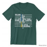 Camiseta GRAND SLAM ALL TYPE >> MASCULINA