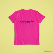 Camiseta HAPPINESS >> FEMININA