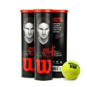 Bolas de Tênis Wilson RF Legacy Ball All Court - Pack com 3 tubos