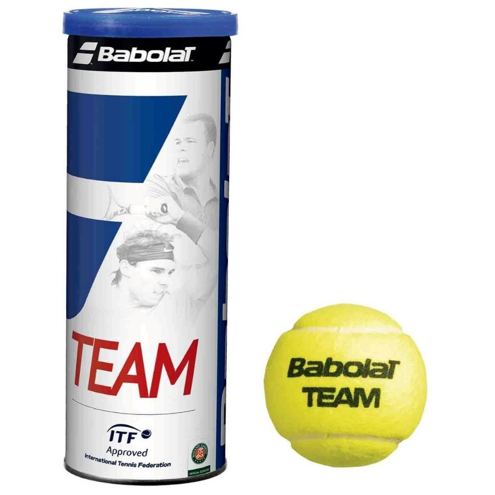 Bolas de Tênis Babolat Team - Pack com 2 tubos